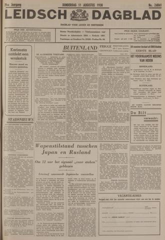 Leidsch Dagblad 1938-08-11