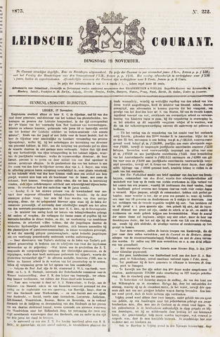 Leydse Courant 1873-11-18