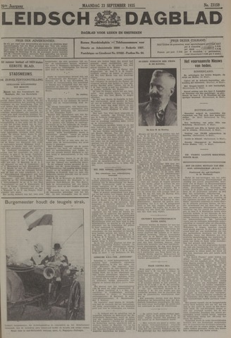 Leidsch Dagblad 1935-09-23