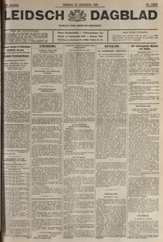 Leidsch Dagblad 1933-08-25