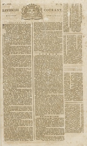 Leydse Courant 1826-05-29