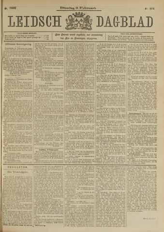 Leidsch Dagblad 1904-02-09