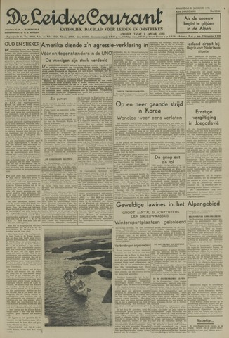 Leidse Courant 1951-01-22