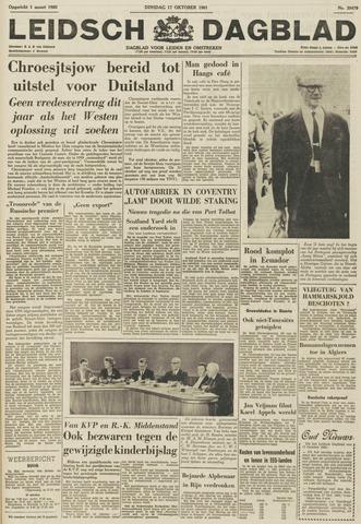 Leidsch Dagblad 1961-10-17