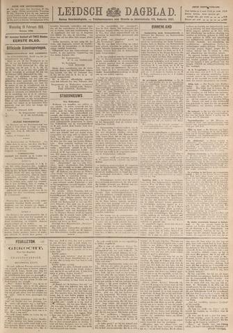 Leidsch Dagblad 1919-02-19