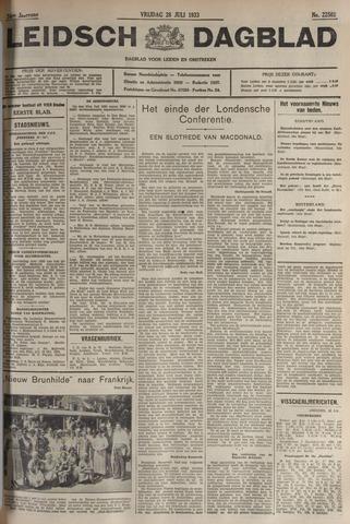Leidsch Dagblad 1933-07-28