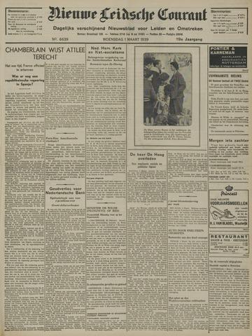 Nieuwe Leidsche Courant 1939-03-01