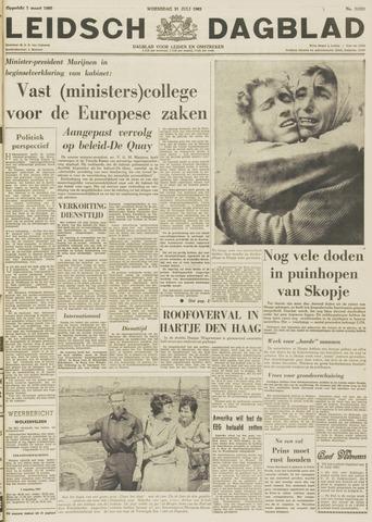 Leidsch Dagblad 1963-07-31