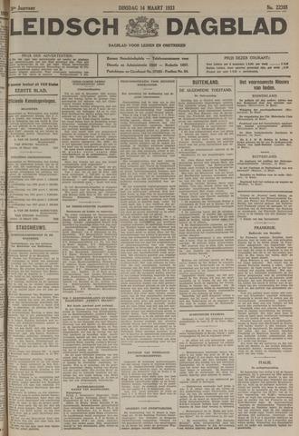Leidsch Dagblad 1933-03-14