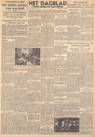 Dagblad voor Leiden en Omstreken 1944-04-21