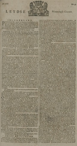 Leydse Courant 1727-04-23