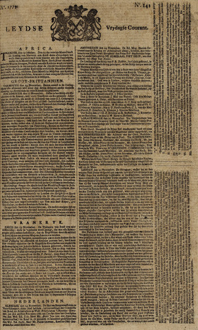 Leydse Courant 1779-11-26