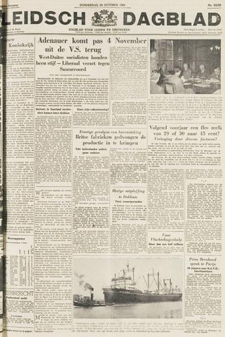 Leidsch Dagblad 1954-10-28
