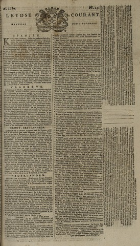 Leydse Courant 1789-11-02