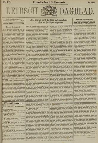 Leidsch Dagblad 1890-01-16