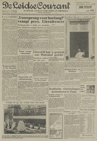 Leidse Courant 1955-03-03