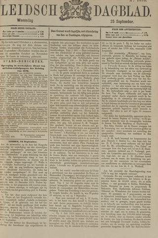 Leidsch Dagblad 1878-09-25