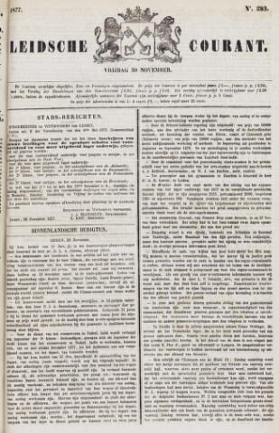 Leydse Courant 1877-11-30