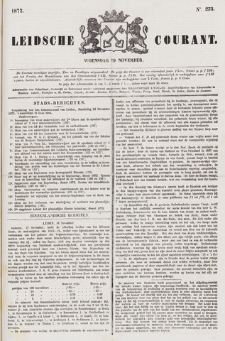 Leydse Courant 1873-11-19
