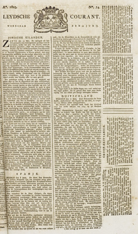 Leydse Courant 1825-06-22