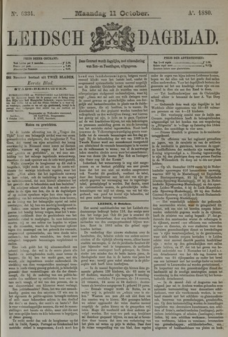 Leidsch Dagblad 1880-10-11