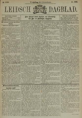 Leidsch Dagblad 1890-10-03