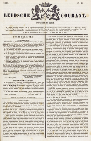 Leydse Courant 1869-07-20