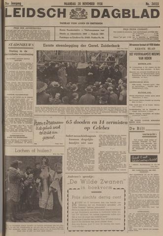 Leidsch Dagblad 1938-11-28