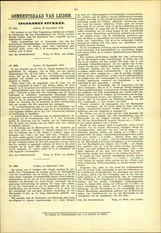 Handelingen van de Raad 1930-09-23