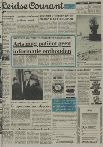 Leidse Courant 1985-11-20