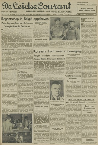 Leidse Courant 1950-07-21