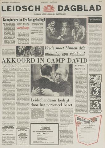 Leidsch Dagblad 1978-09-18