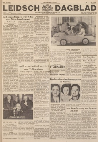 Leidsch Dagblad 1951-04-06