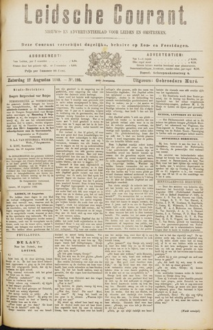 Leydse Courant 1889-08-17