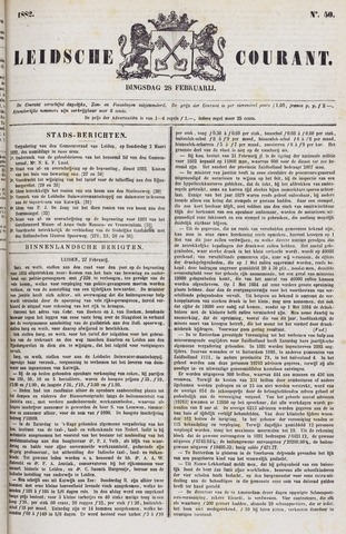 Leydse Courant 1882-02-28