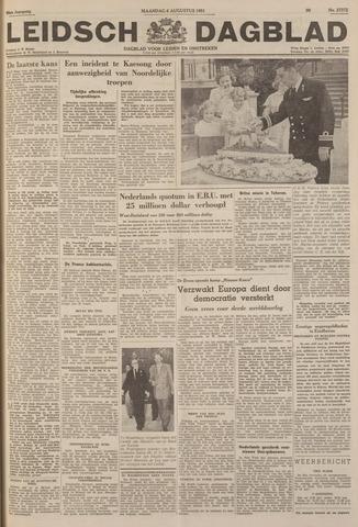 Leidsch Dagblad 1951-08-06