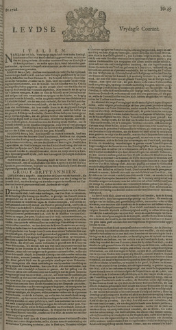 Leydse Courant 1726-08-09