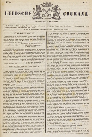Leydse Courant 1882-01-05
