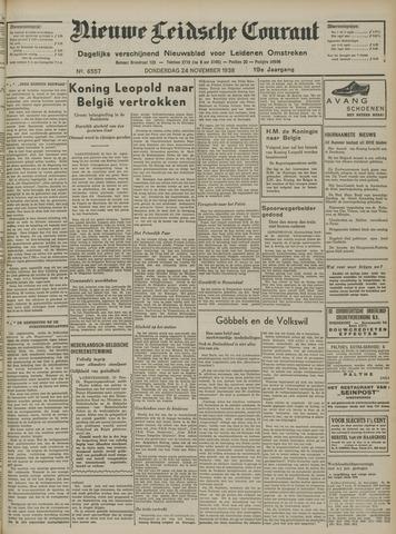 Nieuwe Leidsche Courant 1938-11-24