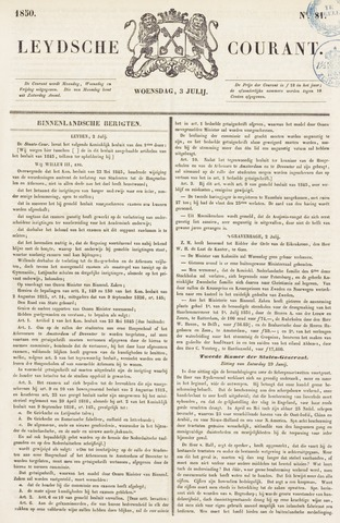 Leydse Courant 1850-07-03