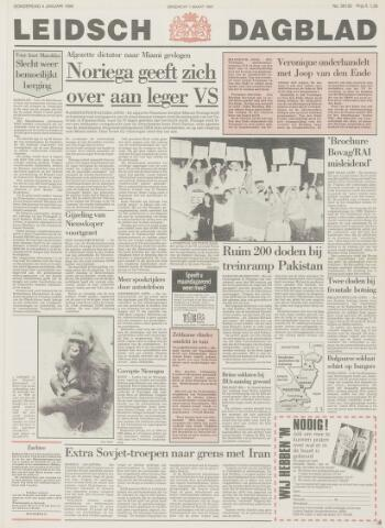 Leidsch Dagblad 1990-01-04