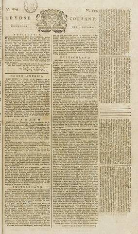 Leydse Courant 1819-10-13