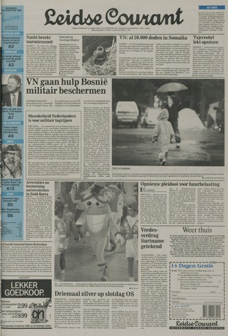 Leidse Courant 1992-08-10