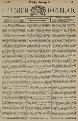 Leidsch Dagblad 1882-04-14