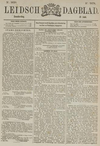 Leidsch Dagblad 1878-06-13