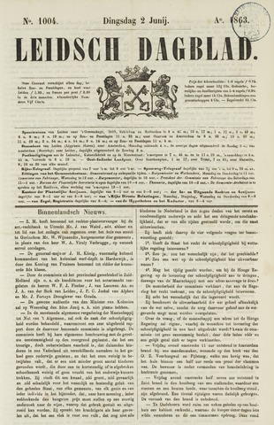 Leidsch Dagblad 1863-06-02