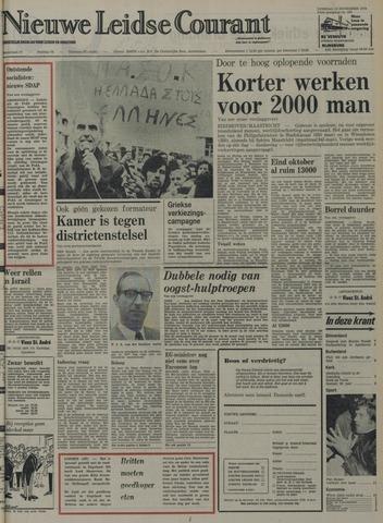 Nieuwe Leidsche Courant 1974-11-12