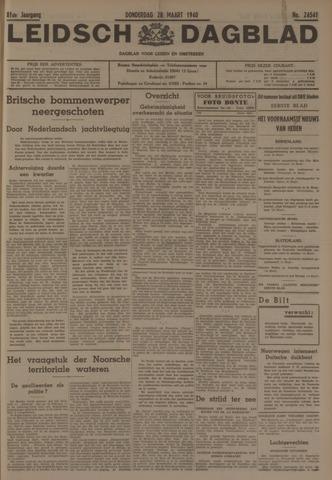 Leidsch Dagblad 1940-03-28