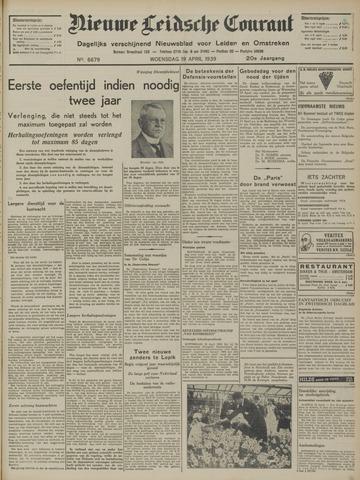 Nieuwe Leidsche Courant 1939-04-19