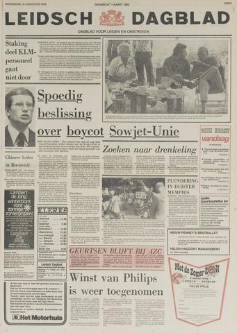 Leidsch Dagblad 1978-08-16